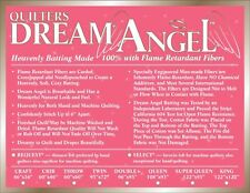 Quilters Dream Angel Select Mid Loft Batting Throw Size