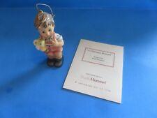"Goebel Hummel ""A Christmas Bouquet� Ornament 2001"