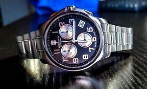 Victorinox Classic Officers Chronograph 241455 - Pristine Condition