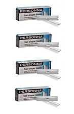 Personna Hair Shaper Blades, Glide Coated, Extra Sharp Stainless, 20 Count
