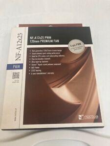 NEW Noctua NF-A12x25 PWM Premium Quiet Fan