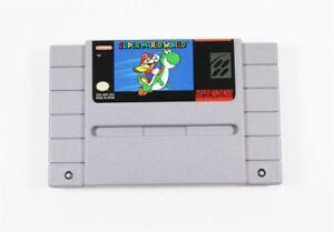 Super Mario World - Original and Authentic SNES Super Nintendo Game