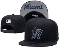 Miami Marlins MLB Baseball Embroidered Hat Snapback Adjustable Cap