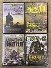 Lot Of 4 Deer Waterfowl Hunting Dvd Videos Mossy Oaks Mega Bucks Outdoor Insight