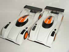 Scalextric-Paire de Le Mans LMP1/LMP2 sportscars-Comme neuf CDN.