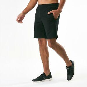 Asics Tiger OP Black Performance Sweat Shorts  Size: XL