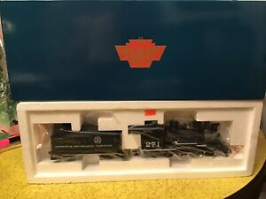 On30 D&RGW W/ SCENIC HERALD C-16 2-8-0 #271 IN BLACK NEVER REMOVEDFROM BOX