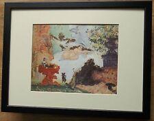"Incorniciato 12"" x16"", una moderna OLYMPIA by Paul Cezanne, MASTER DIPINTI"