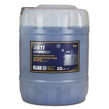 20 (1x20) Liter MANNOL Antifreeze AG11 Frostschutz Konzentrat blau