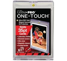 x1 ONE TOUCH 35pt CARD HOLDER Proteggi Carte Magnetico Ultra pro Pokemon Magic