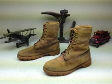 DISTRESSED TIMBERLAND MADE IN USA LACE UP DESERT ARMY HIKING WAR BOOTS 9-9.5.5 D