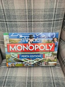 Hasbro Monopoly PERTH Edition Property Trading Board Game NEW SEALED