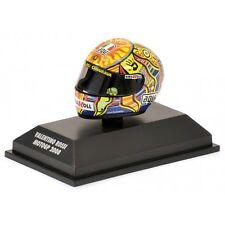 1:8 AGV Minichamps Valentino Rossi Helmet Casco Moto GP 2008 NEW