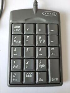 Belkin USB 10key Numeric Keypad For PC F8E465X