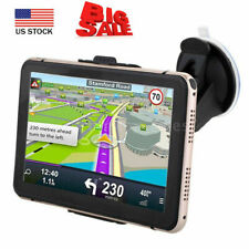 7'' Portable Car GPS Navigation Auto Navigator Nav 4GB 128MB RAM +Free Map K2E6