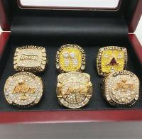 Los Angeles Lakers 2000/2001/2002/2009/2010/Kobe Championship Rings Full Set
