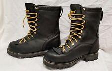 10M/43 Rhino Kilted Sympatex P91R1 Work Boot Men Black Leather Insulated