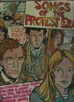 SONGS OF THE PROTEST ERA LP Byrds/Joan Baez/Donovan/Janis Ian/Phil Ochs/Turtles