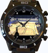 Basketball Court New Gt Series Sports Unisex Gift Wrist Watch UK SELLER