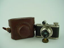 Boltax Model I Subminiature Camera w/40mmm Picner ,Picny D Shutter & Case - Nice