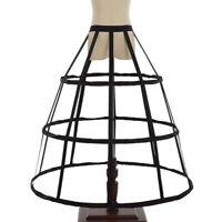 Vintage Hoop Cage Long Dress Crinoline Costume Dress Cage Pannier Petticoat