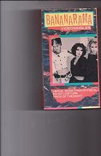 BANANARAMA VIDEO SINGLES VHS MINT!