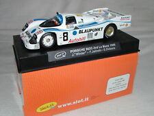 1/32 Slot It SICA03a Scalextric - Porsche 962C Blaupunkt 24h Le Mans 1988 - NIB