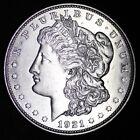 1921-D Morgan Silver Dollar XF / AU90% SILVER! FREE SHIPPING d