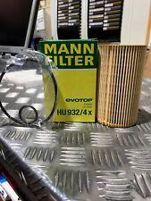 Genuine Mann Oil Filter For Mercedes - HU932/4X