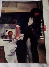 ORIGINAL 1980'S UK MAGAZINE ADVERT.  LEVI'S DENIM JACKET.  CLOTHING.  VINTAGE.