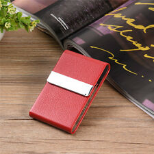 PU Leather ID Credit Card Wallet Herbs Cigarette  Business Pocket Holder Case