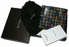 PAUL SMITH REAL LEATHER WALLET BOXED / COINS COMPARTMENT BNWT RARE made in Italy