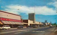 Autos Department Stores California Salinas Monterey Valley Postcard 21-662
