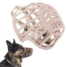 Pet Dog Large Mouth Basket Cage Adjustable Protect Muzzle Stop Barking New