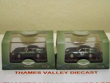 OXFORD DIECAST, 76AMZ001, & 76AMZ002,  COLLECTION OF 2 ASTON MARTIN CARS
