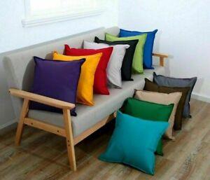 18 Inch Waterproof Garden Filled Cushion Outdoor Indoor Seat Bench Patio Chair