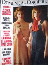 Domenica Del Corriere n°9 1972 Mimsy Farmer - Il Giallo di Landriano Pavia [D24]