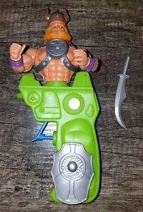 Gun Man Huk Figure Galaxy Warriors Squirt Gun Rare Chicos Spain MOTU KO Sungold