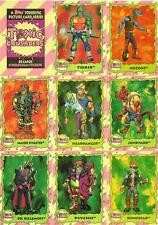 Toxic Crusaders Full Trading Card Set - 88 Cards + 8 Hologram Stickers - Topps