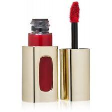 Bright Red L'Oreal L'extraordinaire  Liquid Lipstick Ruby OPERA deep shine
