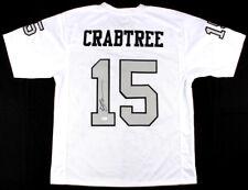 597ba409d JSA Witness Michael Crabtree Signed Autographed Football Jersey Oakland  Raiders