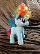 BUILD A BEAR, MY LITTLE PONY RAINBOW DASH BLUE PONY PLUSH  15""