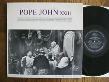 Pope John XXIII LP 1963 Recorded in the State of Vatican City EX + Mercury RM200