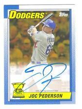 2015 Topps Archives Auto Joc Pederson Rookie Gold Parallel Autograph 11/50