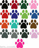 PAW PRINT STICKERS Any Colour Car Wall Art Stickers Decals Graphic Cat Dog x 28