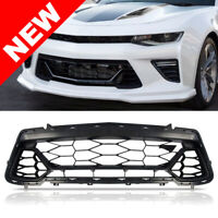 50th Anniversary Front Lower Grille Black For 16-18 Chevy Camaro