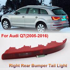 FOR AUDI Q7 2006-2015 REAR LOWER BUMPER TAIL LIGHT LAMP PASSENGER SIDE RIGHT