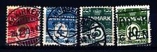 DENMARK - DANIMARCA - 1905-1930 - Linee ondulate, con 18 cuori