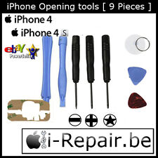 iPhone 3 3G 4 4S Full Opening tools [ 9 pieces set ] - Pentabole+ 3M Adhesive