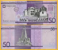 Dominican Republic 50 Pesos Dominicanos p-new 2017(2019) UNC Banknote